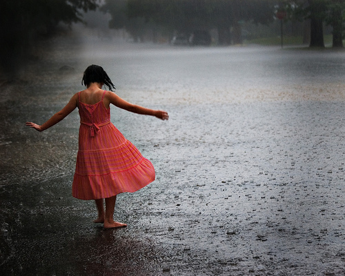 Learning to Love the rain?