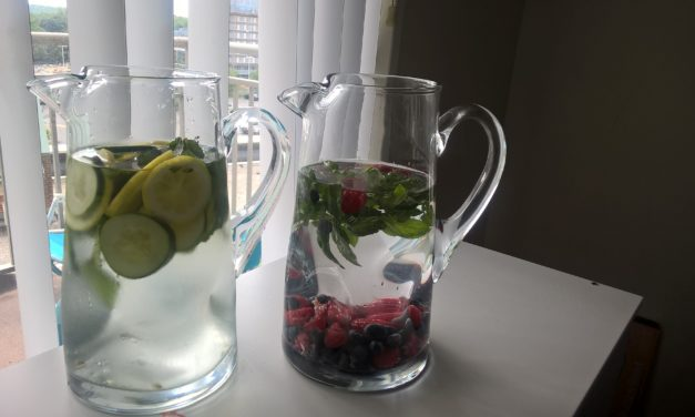 One change that can transform your health: DETOX WATER